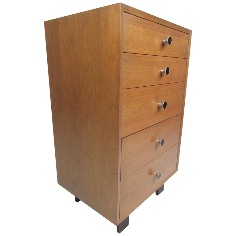 Md-Century Modern George Nelson Lingerie Chest For Sale