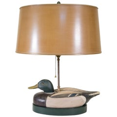 Mallard Drake Decoy Lamp