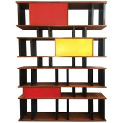 Charlotte Perriand and Jean Prouve Style Shelving System