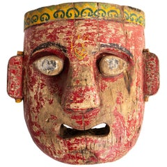Wooden Indian Mask