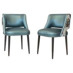 Modern Dining Room Chair with Relaxed Pitch