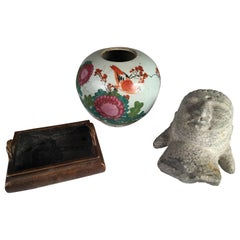 Collection of 3 Asian Items