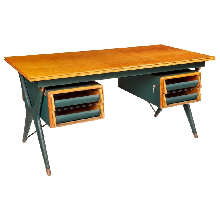 Silvio Berrone, Desk from the Bialetti Building, 1955–1956 For Sale