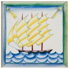 Series of 4 Paintings of Gio Ponti