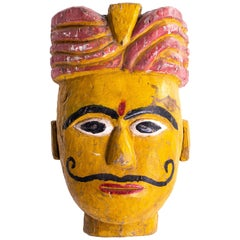 Indian Wooden Mask