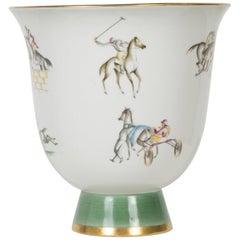 Vases with Jockeys of Gio Ponti