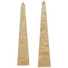 Pair of Obelisk, Giraudon, 1970