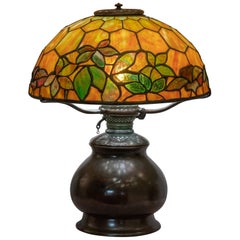 Tiffany Studios Woodbine Table Lamp