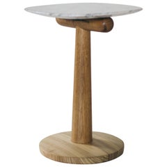 Blondin Side Table, Brazilian Wood