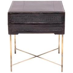 19. Jahrhundert chinesische Angebot Box Tisch