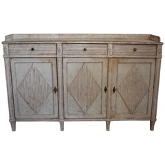 Early 19th Century Swedish Long Sideboard