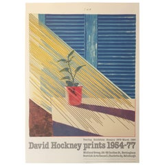 Original Vintage Art Poster 'Sun from the Weather Series' David Hockney 1981