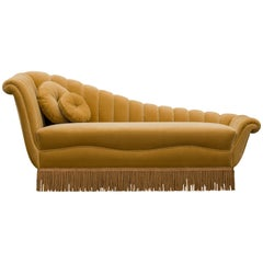 Koket Millicent Chaise in Samt