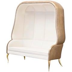 Koket Drapesse Sofa in Velvet