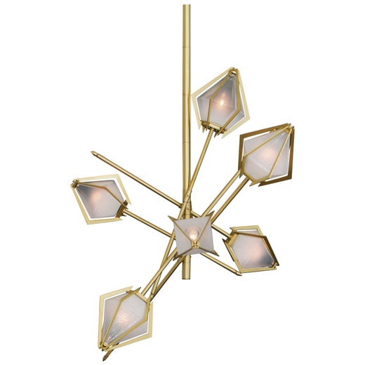 Harlow Small Chandelier by Gabriel Scott