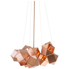 Welles Central Chandelier in Copper by Gabriel Scott