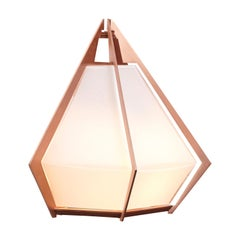 Harlow Wall Sconce in Copper and Alabaster by Gabriel Scott