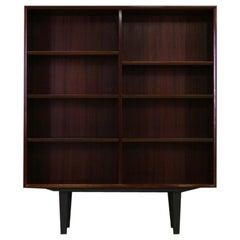 Bookcase Rosewood Vintage Danish Design Retro