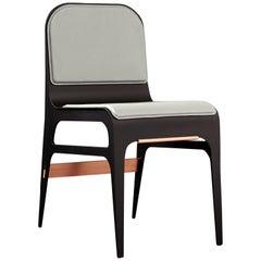 Bardot Stuhl aus Schiefer und Kupfer von Gabriel Scott