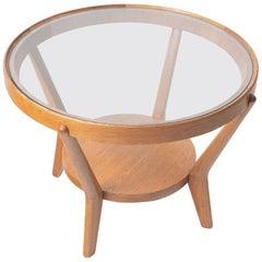 Round Coffee Table by Antonin Kropacek & Karel Kozelka for Interier Praha