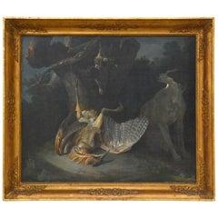 Nachfolger von Jean-Baptiste Oudry - Stillleben mit Spiel, 1800er