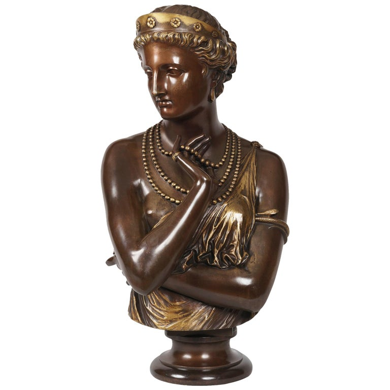 Bust of 'Helen of Troy' by J-B Clesinger For Sale