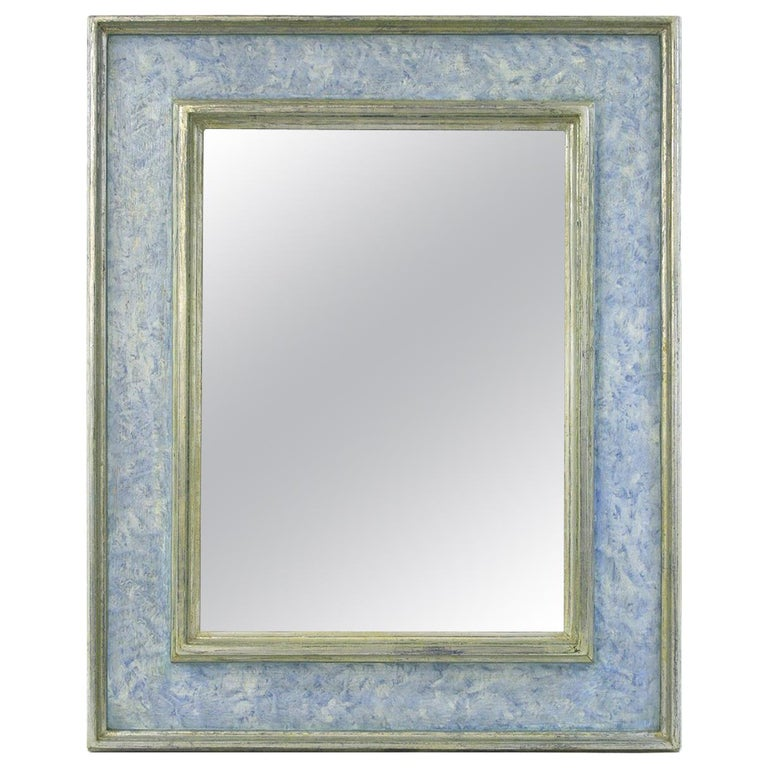"""French Contemporary Mirror, Inspiration Frame """"Braque"""" by Pascal & Annie For Sale"""
