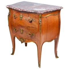 19th Century Bombe Commode by 'Linke'