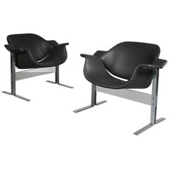 J.B. Meyer Lounge Chairs for Kembo, Netherlands 1960s