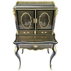 Stunning and Rare Napoleon III Desk Secretary, France circa 1866