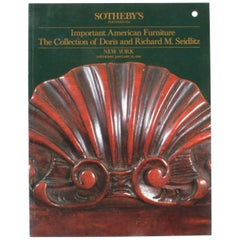 Sotheby's, Important American Furniture of Doris and Richard M. Seidlitz