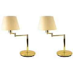 Hinsen Mid-Century Modern Style Table Lamps With Extendable Arms