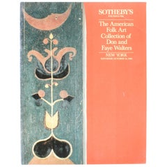 """Sothey's, The American Folk Art Collection of Don and Faye Walters"", Book"