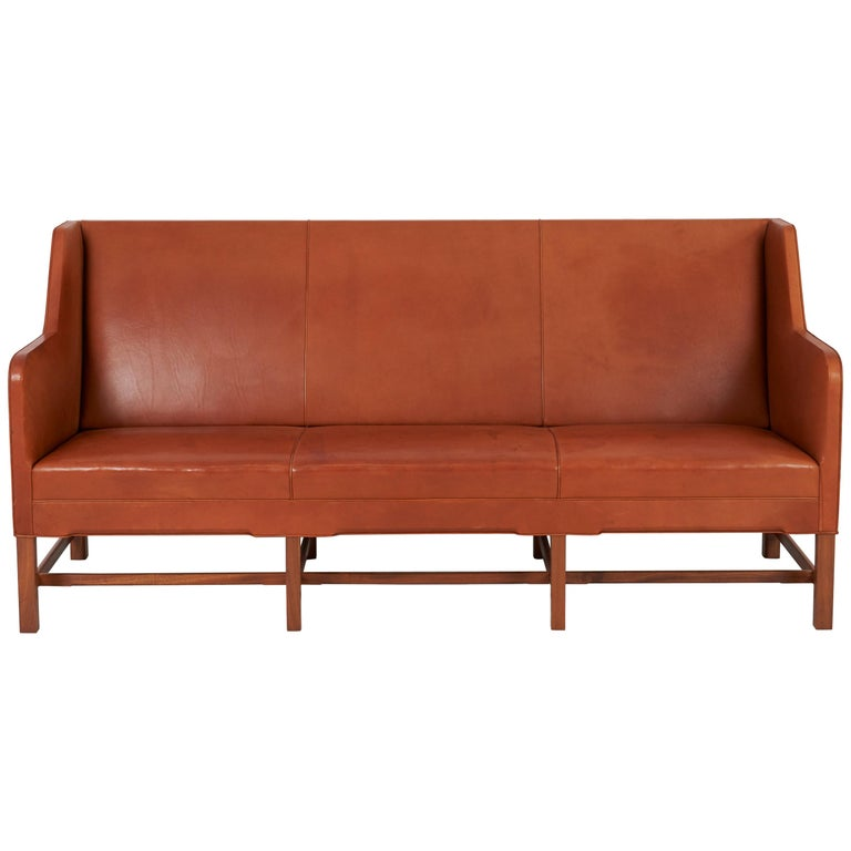 Kaare Klint model 5011 sofa, 1930s, offered by Modern Drama
