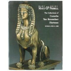Auction Catalogue for The Collections of Cornelia Van Rensselaer Hartman