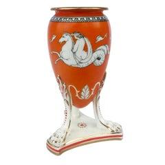 19th Century Samuel Alcock Neoclassical Porcelain Vase