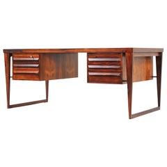 Kai Kristiansen Model-70 Rosewood Desk for Feldballes Møbelfabrik