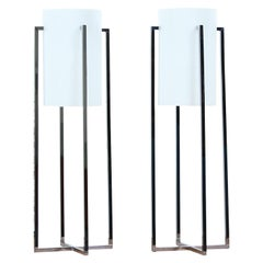 Paul Mayen Chrome & Acrylic Table Lamps for Habitat