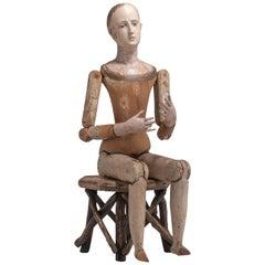 Santos Figure, Italy 19th Century