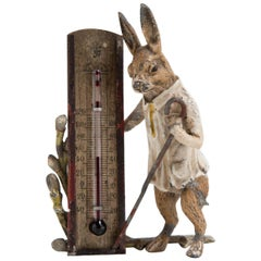 March Hare Barometer, Austria, 19th Century