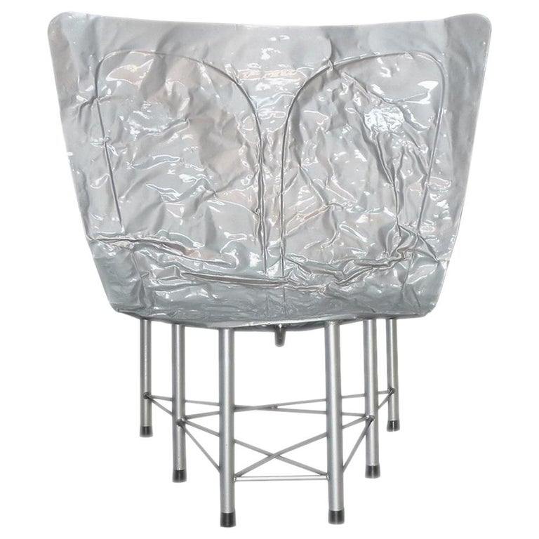 """Contemporary Fusca Chair from """"Cars Never Die"""" Collection by Alê Jordão, Brazil For Sale"""