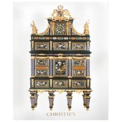 Christie's London; The Badminton Cabinet, The Property of Mrs. Barbara Johnson