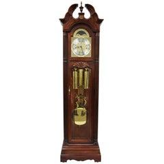 Howard Miller Landsbury Grandfather Clock 610-698 Cherry Tall Case