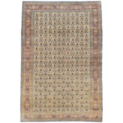 Vintage Turkish Sivas Accent Rug
