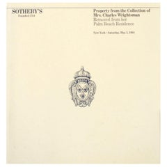 Sotheby's; Property from the Collection of Mrs. Charles Wrightsman