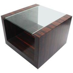 "Minimalist Macassar ""Evo SQ"" Coffee Table by Fermín Verdeguer for Darc, 2002"