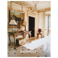 Sotheby's, the Collection of Patricia Kluge