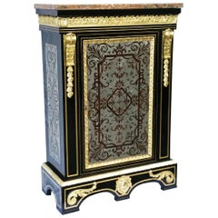 Rare 18th Century Cabinet in Boulle Marquetry, France, circa 1780