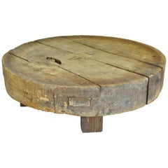 French 18th Century Pressoire, Wine Press, Coffee Table