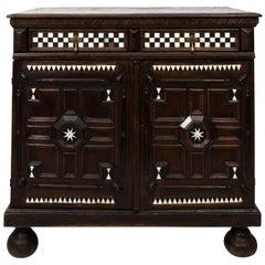 Early 19th Century Jacobean Style Oak Cabinet
